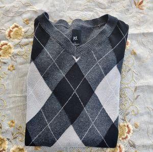 Argyle jumper/sweater(unisex)